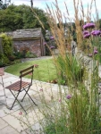 Garden for holiday home, Settle